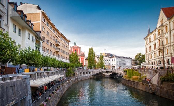 Ljubljana's center