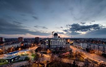 Arad_dusk
