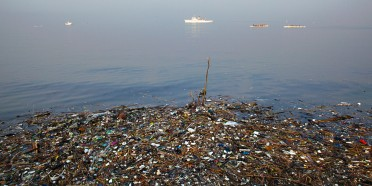 Manila Bay pollution.