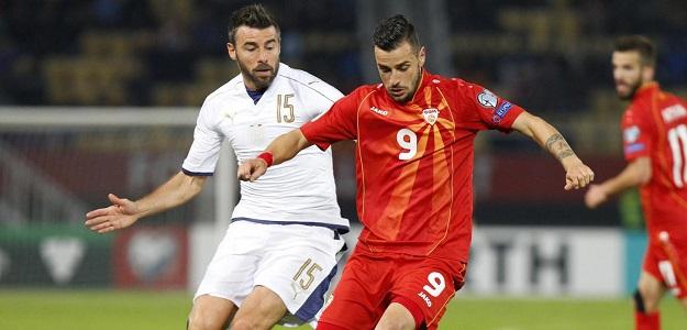 Macedonia vs Italia - Qualificazioni Mondiali Russia 2018