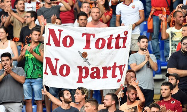 no totti no party