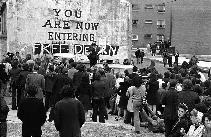 Bürgerkrieg Nordirland 1973 © Holger Rüdel www.momente-der-natur.de