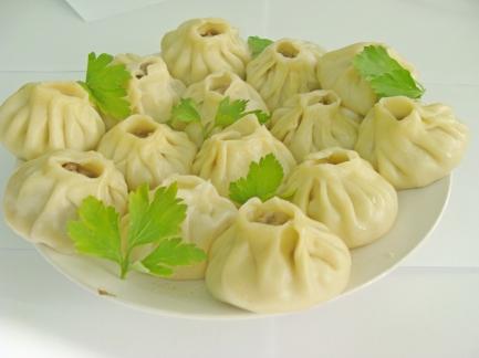 Buuz - traditional Buryat people food