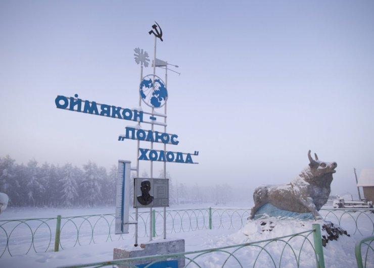 Oymyakon - pole of cold