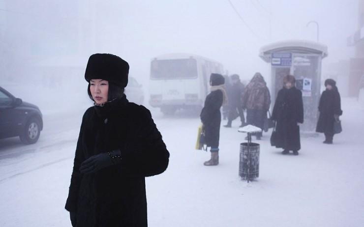 Winter in Yakutia
