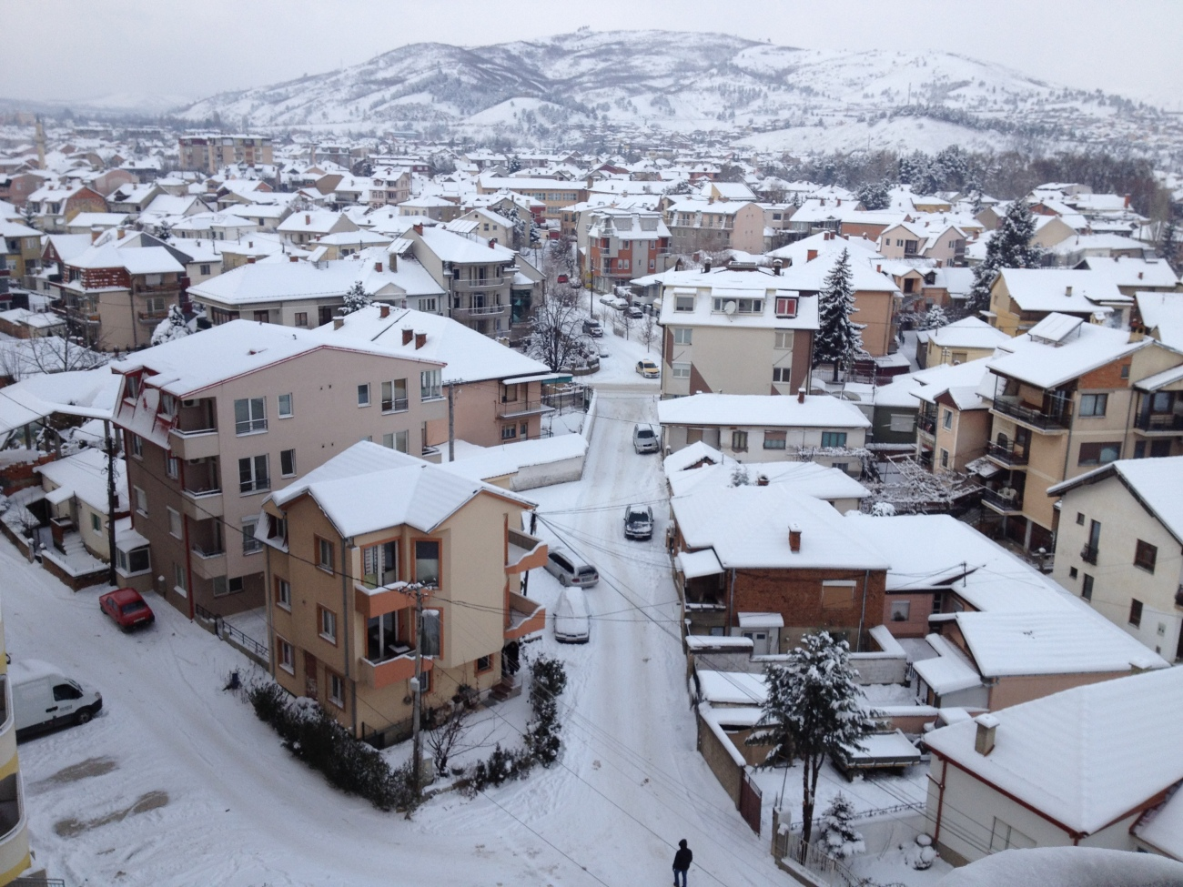 Македония. Битола зимой