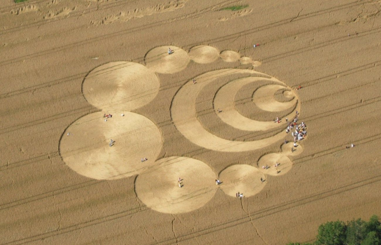 Jabberocky. crop circle in Switzerland