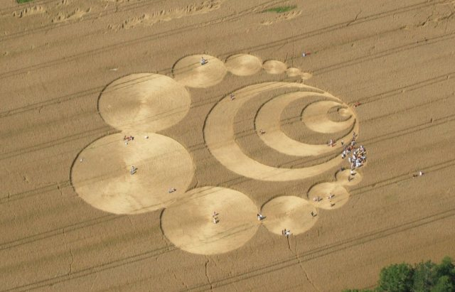 Jabberocky. crop circle in Switzerland