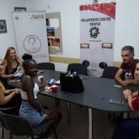 Welcome to EVS volunteers from Belgium!