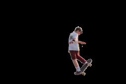 Doris Skating 3 transparent