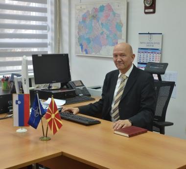 Colonel Zoran Jankovic, Chief NLO Skopje