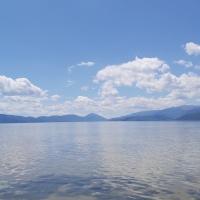 Charming lake Prespa